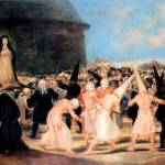 """Geissler Procession by Francisco Goya"" by ArtLoversOnline"