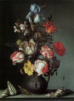 Van Der Ast Flowers in a Vase