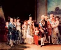 Charles IV of Spain and His Family by Goya