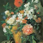 """Van Huysum Flowers in a Vase"" by oldies"