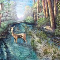 Wolf Ridge Trail Art Prints & Posters by Robert Jett