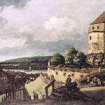"""View of Pirna by Canaletto"" by ArtLoversOnline"
