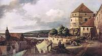 View of Pirna by Canaletto