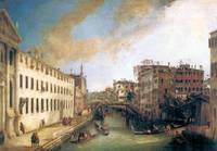 The River of Mendicanti by Canaletto