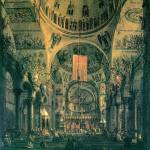 """San Marco, Inside View by Canaletto"" by ArtLoversOnline"