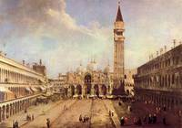 Piazza San Marco by Canaletto