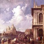 """Piazza in Venice by Canaletto"" by ArtLoversOnline"