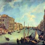 """Grand Canal at San Vio by Canaletto"" by ArtLoversOnline"