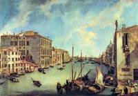 Grand Canal at San Vio by Canaletto