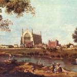 """Eton College by Canaletto"" by ArtLoversOnline"