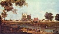 Eton College by Canaletto
