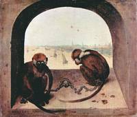 Two Monkeys by Pieter Bruegel