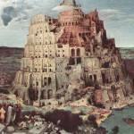 """Tower of Babel by Pieter Bruegel"" by ArtLoversOnline"