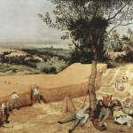 """The Grain Harvest by Pieter Bruegel"" by ArtLoversOnline"