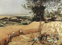 The Grain Harvest by Pieter Bruegel