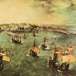 """Port of Naples by Pieter Bruegel"" by ArtLoversOnline"