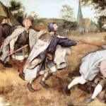 """Parabal of the Blind Men by Pieter Bruegel"" by ArtLoversOnline"