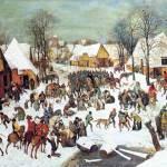 """""""Winter Scene by Pieter Bruegel"""" by ArtLoversOnline"""