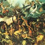 """Fall of the Angelsby Pieter Bruegel"" by ArtLoversOnline"