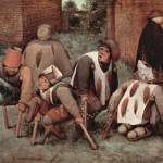 """Cripples by Pieter Bruegel"" by ArtLoversOnline"