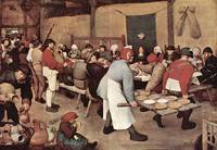 Country Wedding by Pieter Bruegel