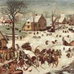 """Census at Bethlehem by Pieter Bruegel"" by ArtLoversOnline"
