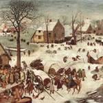 """""""Census at Bethlehem by Pieter Bruegel"""" by ArtLoversOnline"""