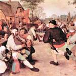 """Barn Dance by Pieter Bruegel"" by ArtLoversOnline"