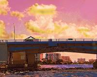 Sunrise Blvd. Bridge, Fort Lauderdale, Florida