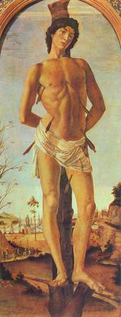 St. Sebastian by Botticelli