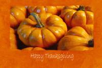Halloween Pumpkins 5 - Happy Thanksgiving