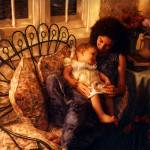 """Mother and Child (A tender moment )"" by joegemignani"