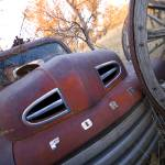 """Rusty Ford and Wagon Wheels"" by"