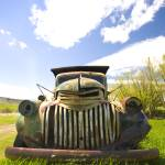 """Old Chevrolet Grille"" by"