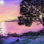 """""""Moonbathing"""" by CricketNoel"""