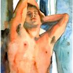 """Dying Slave, Male Nude Art"" by schulmanart"