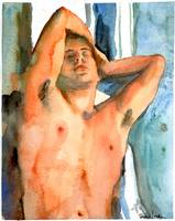 Dying Slave, Male Nude Art