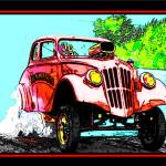 """33 WILLYS BURNOUT"" by KOOLKARS"