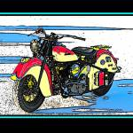 """INDIAN BIKE ON SALT"" by KOOLKARS"