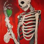 """Skeleton Surrealism"" by LizDove"
