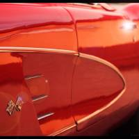 Sunset Corvette Art Prints & Posters by tess buckler