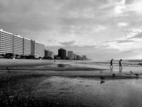 Myrtle Beach black & white
