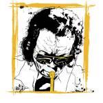 """""""Miles Davis by Michael T. Bane"""" by tBaneArt"""