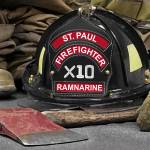 """St Paul Firefighter Ramnarine"" by BJolly"