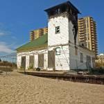 """nj beach building"" by VirginiaZuelsdorf"