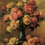 Renoir Les Roses Dans Un Vase by Leo KL