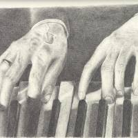 Rachmaninov's Piano Hands Art Prints & Posters by NathanRaught