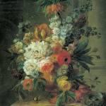 Van Leen Flowers and a Bird's Nest by Leo KL