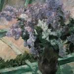 Cassatt Lilacs In A Windoe by Leo KL