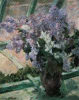 Cassatt Lilacs In A Windoe